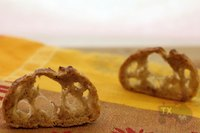 36hr+ sourdough baguette with increased wholegrain