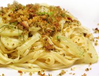 Spaghetti with Fennel, Lemon, & Breadcrumbs