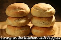 Bolillo Dough Burger Buns