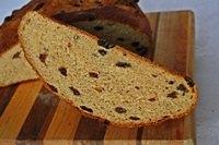 Sweet Corn Raisin Bread