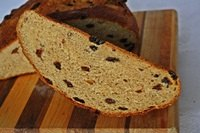 Sweet Corn Raisin Bread