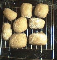 Simple Wholemeal Sourdough Rolls