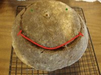Sourdough with Buckwheat Flakes