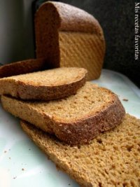 Whole grain Anadama bread