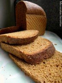 Whole grain Anadama bread
