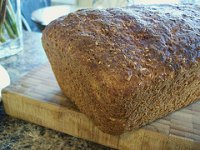 Yeasted Carrot - Coconut Bread