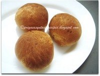 Flax Seeds Bread Rolls
