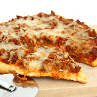 Homemade Pizza with Beef