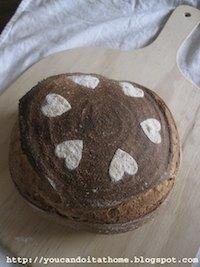 Sourdough Corn Bread with old bread