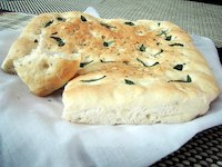 Can't-Get-Enough Rosemary & Basil Foccacia