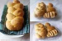 Braided Oats Bread