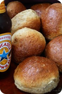 Oatmeal Brown Ale Rolls & Bread