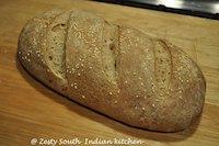 Roasted garlic bread: A sourdough method
