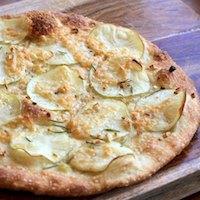 Potato, Garlic, and Rosemary Pizza