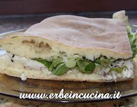 Focaccia with Mackerel, Thyme and Nigella