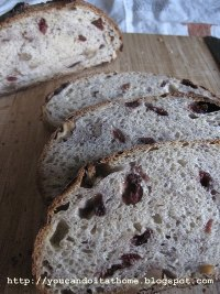 Cranberry and Walnut Sourdough