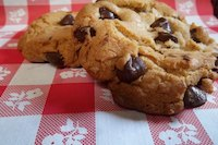 Chocolate Chip Cookies made with Yeast