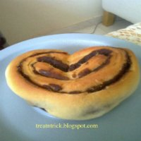 Heart Shaped Butter Rolls