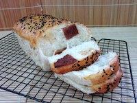 Bak Kwa ~ BBQ sweetmeat Sandwhich Loaf