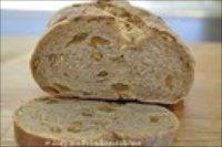 Pistachio raisin sourdough bread