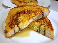 Apple Butter Swirl French Toast