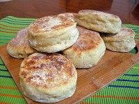 Cornmeal English Muffins