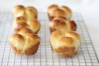 Bubble top brioche