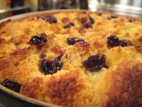 Pandoro Bread Pudding