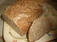 Rye Sourdough with Beer & Oats