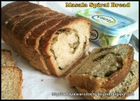 Masala Spiral Bread