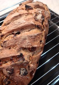 70% 3-Stage Rye Sourdough with Fruits and Nuts
