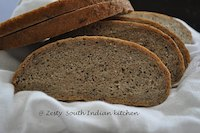 French  Rye bread with caraway seeds