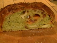 Cheese-Scallion-Bacon-Curry Bread