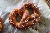 Authentic German Soft Pretzels