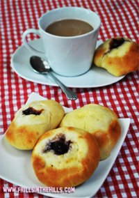 Kolaches - the czech breakfast