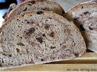 Cinnamon Raisin Whole Wheat Bread