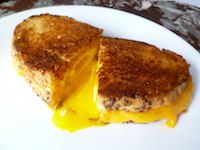 Surprise Grilled Cheese