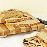 No Knead Whole Wheat Bread