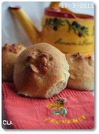 Petits pains à la mozzarella