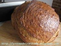 Chia Seed Rye Sourdough