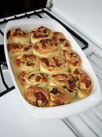 Cheesy Caramelized Onion Rolls