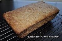 No knead 100% whole wheat maple bread