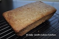 No knead 100% whole wheat maple bread