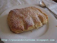 Bear Claw: pastry filled with frangipane