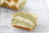 Matcha milk bread
