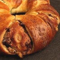 Yeasted Meringue Coffee Cake