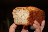 Pumpkin Pie Spiced Oats Flaxseed Quinoa mini loaf