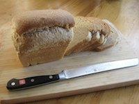 Sourdough White Wheat Sandwich Bread
