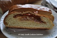 Yeasted coffee cake