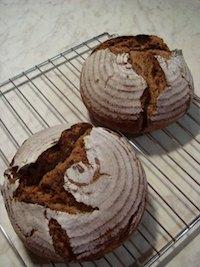 80% Sourdough Rye with a Rye-Flour Soaker